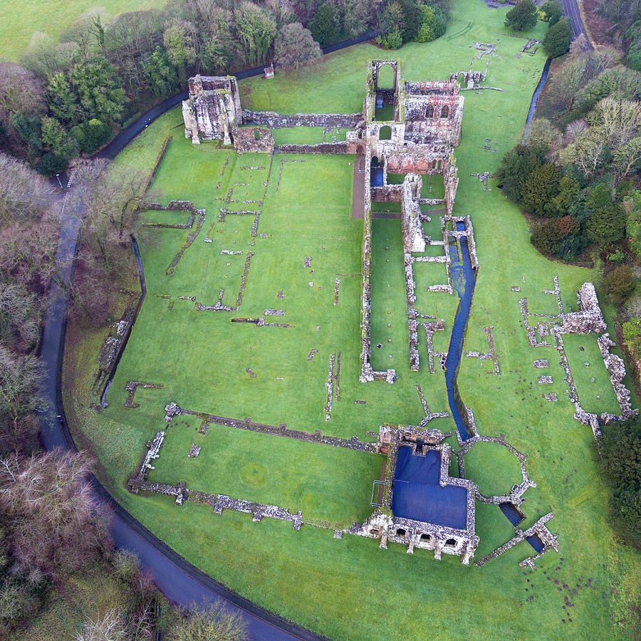Furness Abbey Photograph - Furness Abbey 3 by Steev Stamford