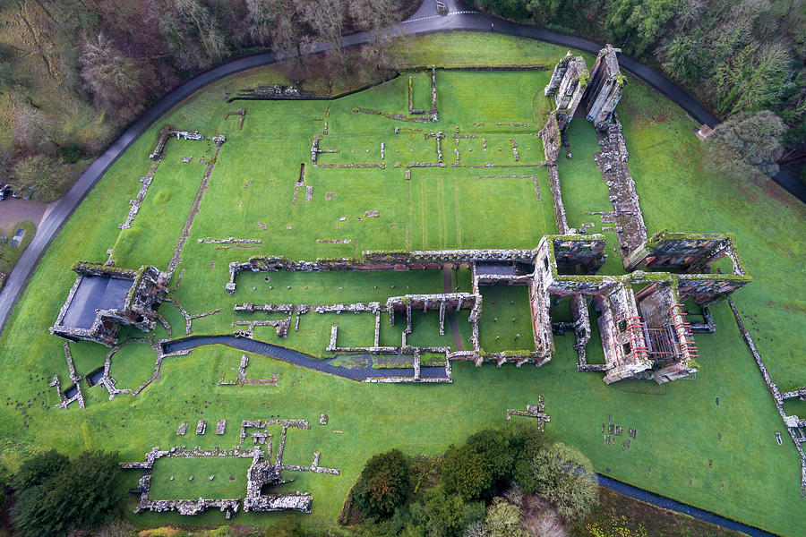 Furness Abbey Photograph - Furness Abbey 4 by Steev Stamford