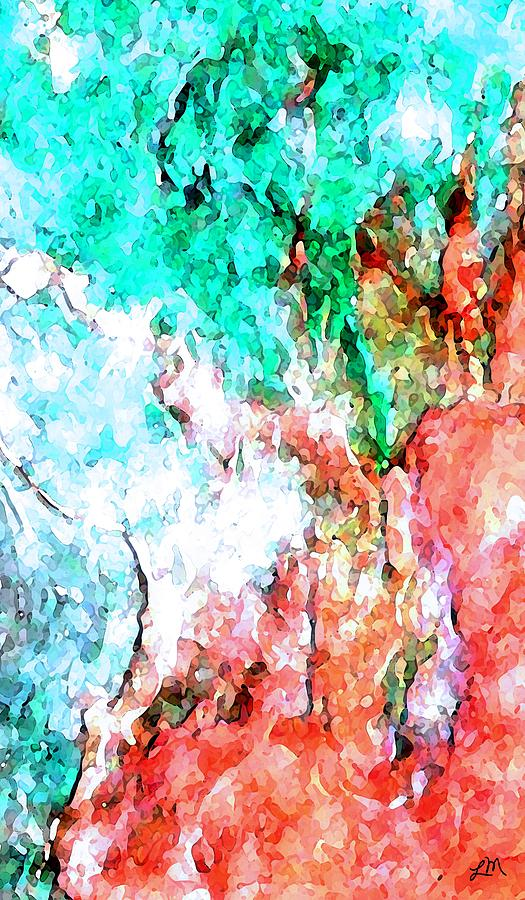 Abstract Digital Art - Future Moment by Linda Mears