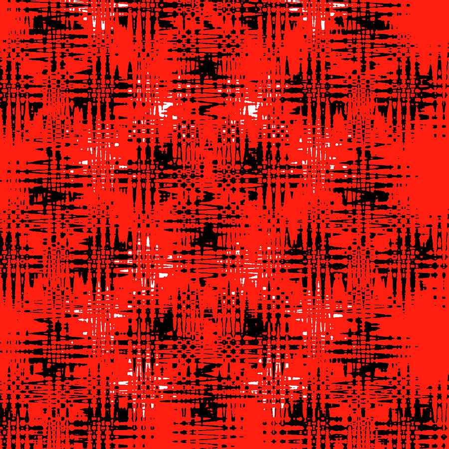 Abstract Digital Art - Future Plaid by Jeremy Edsall
