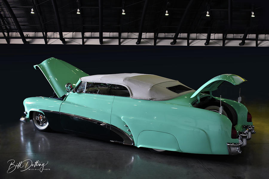 Merc Photograph - Future Sled by Bill Dutting