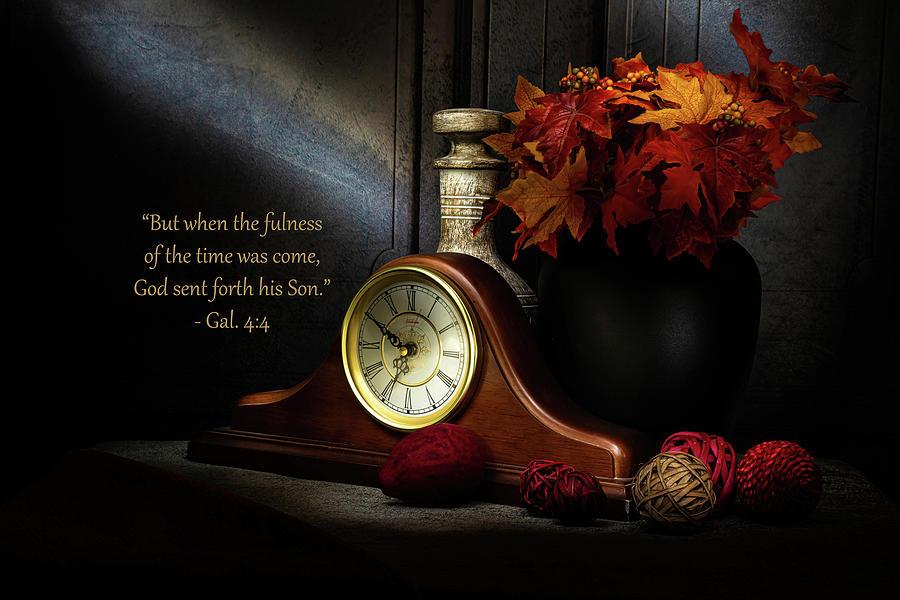 Bible Photograph - Gal 4 by Tom Dallis