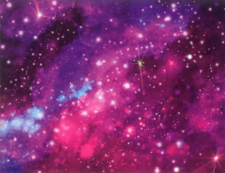 Galaxy Digital Art - Galactic Passion by Mary J Winters-Meyer