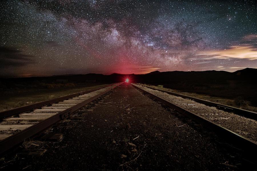 Galactic Railroad Photograph
