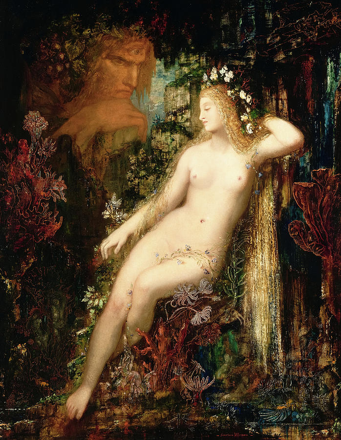 Gustave Moreau Painting - Galatea, 1881 by Gustave Moreau