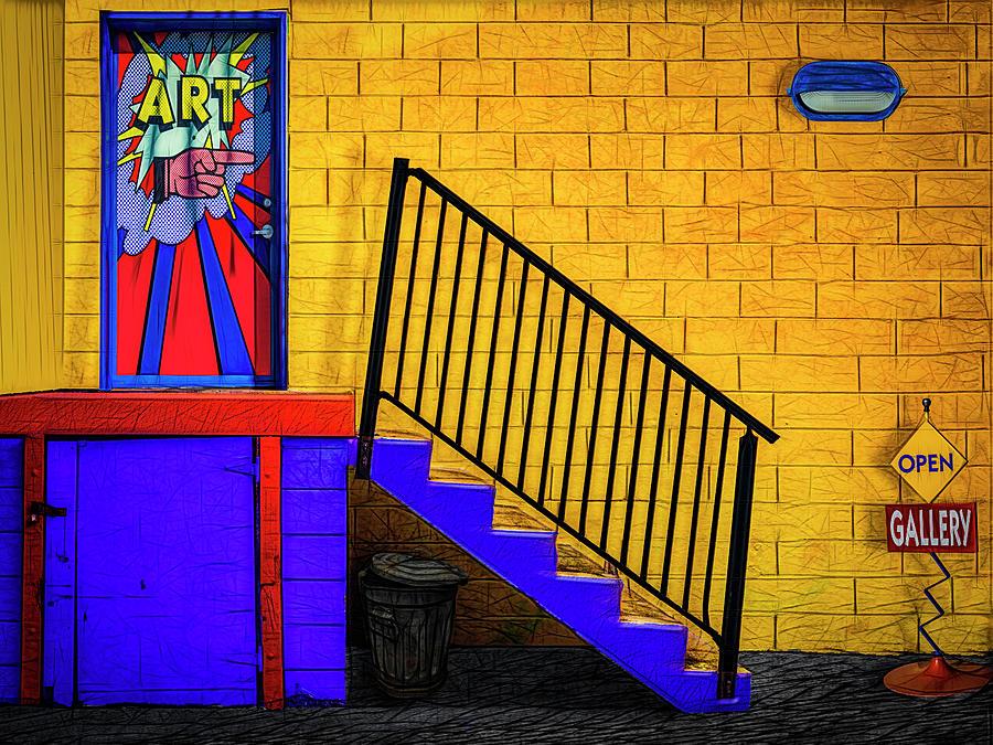 Gallery is Open by Paul Wear