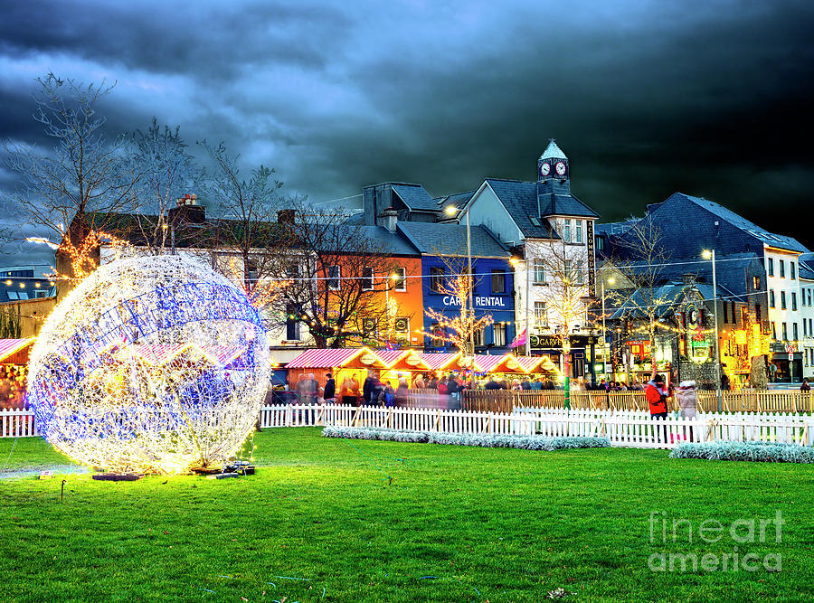 Galway Christmas Market Ball by John Rizzuto