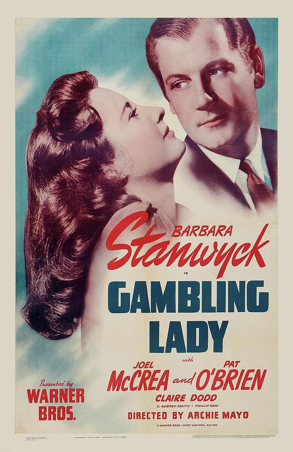 gambling Lady - 1934 Mixed Media