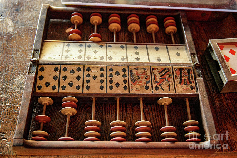 Gambling Photograph - Game Board  by Jeff Swan