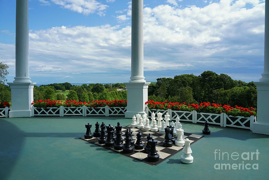 Game Of Chess Photograph