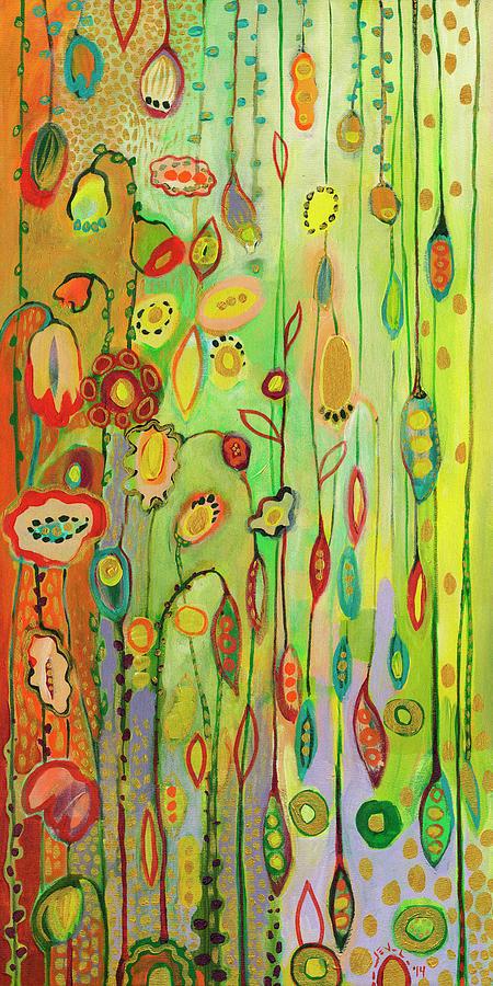Garden Lights Painting