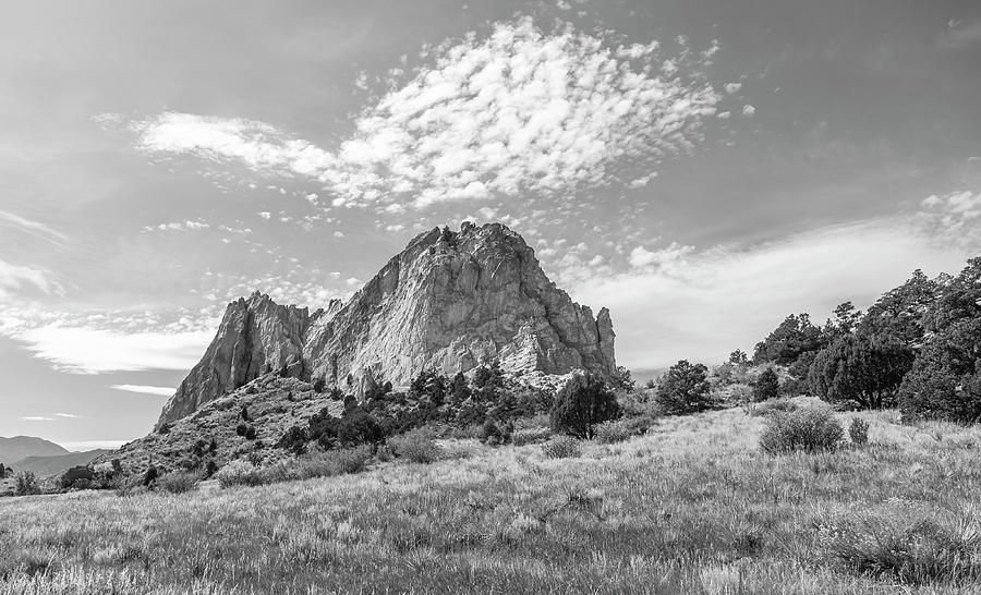 Garden of the Gods 2019-1 Black and White by Thomas Young