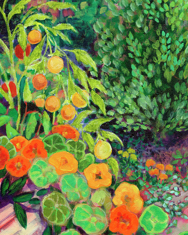 Garden Paradise II Painting