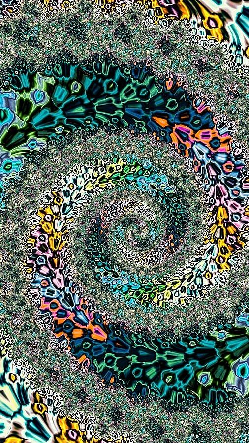 Garden Path Digital Art