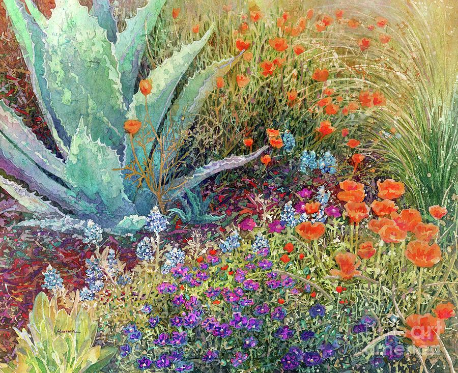 Gardeners Delight-orange Flowers Painting
