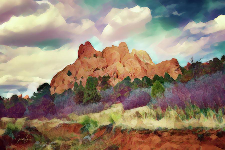 Garden Of The Gods Digital Art - Garden_Majesty_20210404 by Joseph Liberti