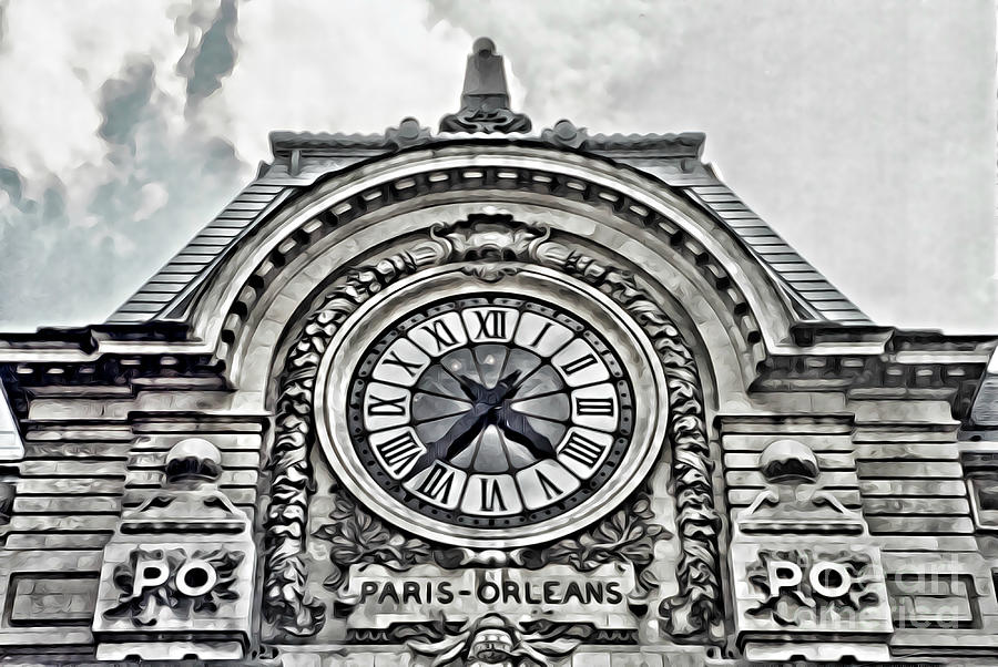 Gare D'Orsay Paris by Tracy Ruckman