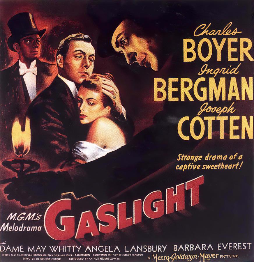 gaslight 2, With Charles Boyer And Ingrid Bergman, 1944 Mixed Media