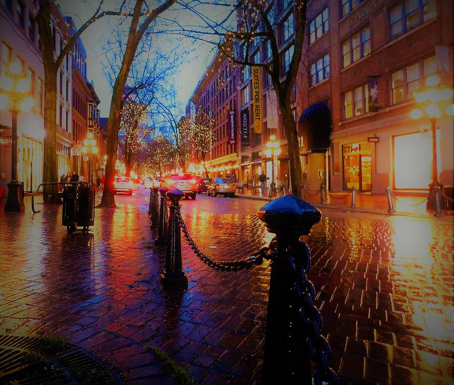 Gastown Vancouver: Vancouver Bc Photograph By