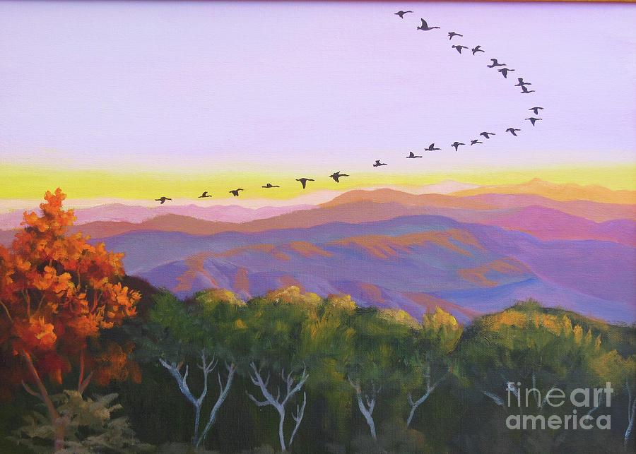 Geese by Anne Marie Brown