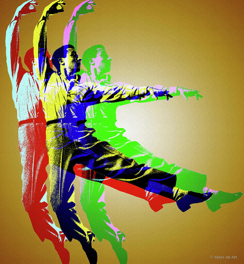Gene Kelly Digital Art