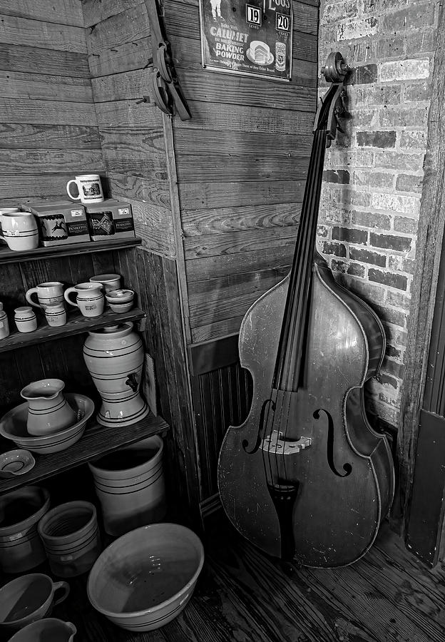 General Mercantile And Oldtime String Shop Photograph