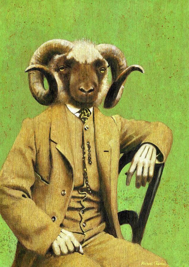 Gentleman Ram Painting