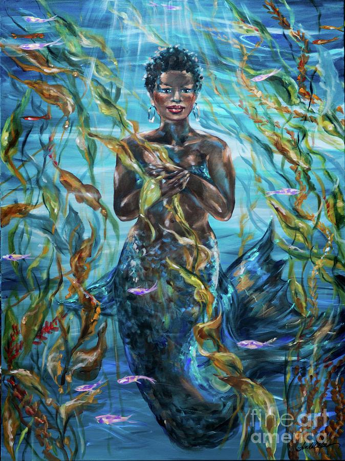 Gently Floating by Linda Olsen