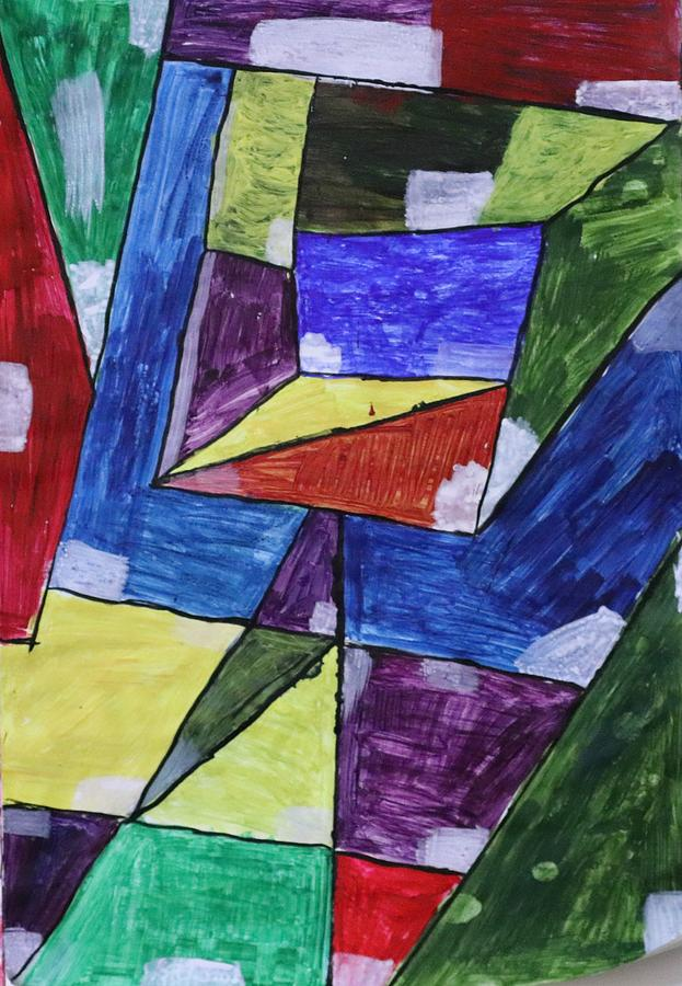 Geometric Abstract 2 Painting