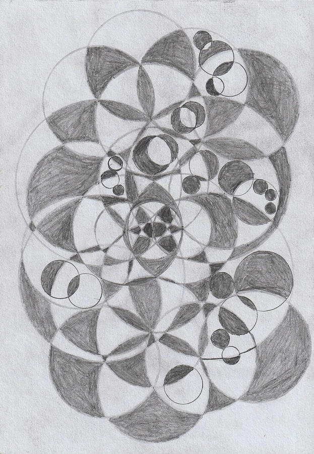 Geometrical Drawing - Geometrical Circles by Sandeep Choudhary