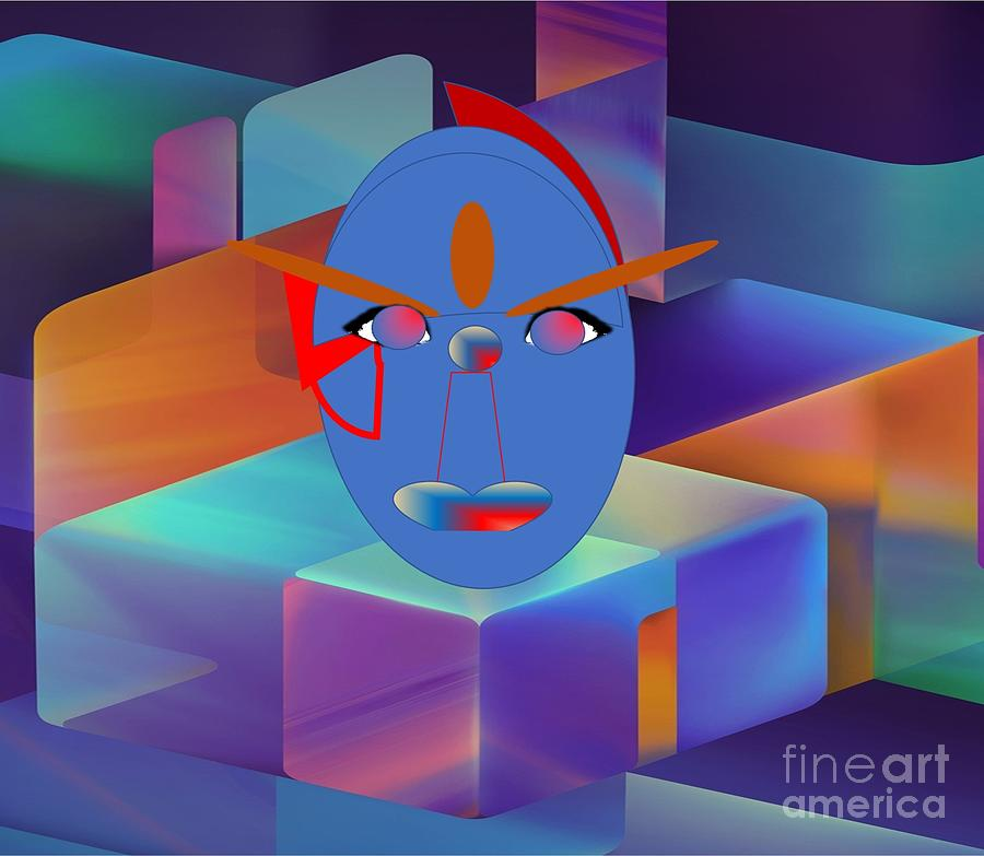 Geometrically  Abstract Digital Art