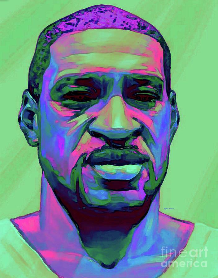 George Floyd - He Is Not Black, He Is Every Color Digital Art