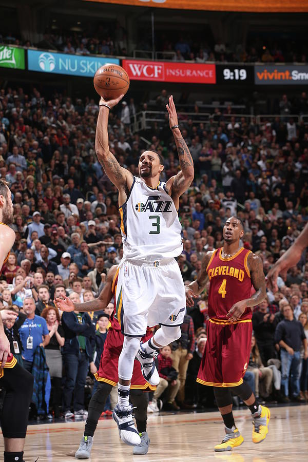 George Hill Photograph by Nba Photos