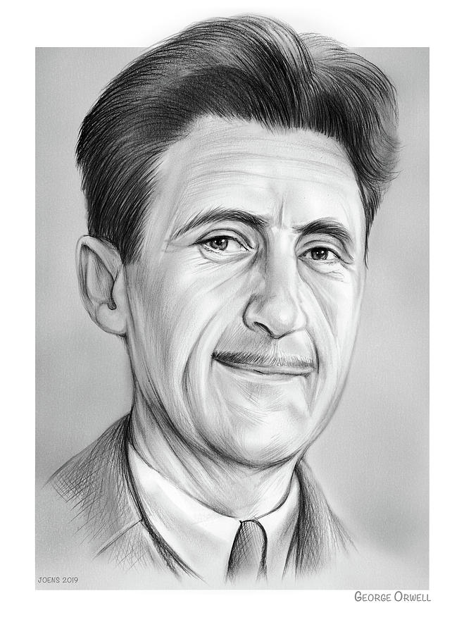 George Orwell Drawing