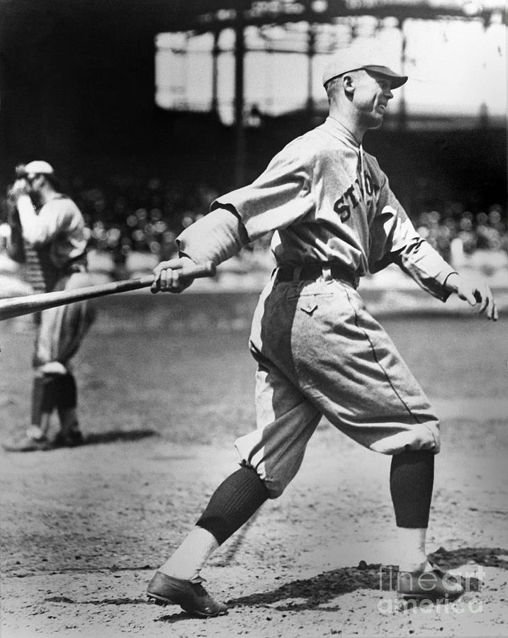 George Sisler Photograph by National Baseball Hall Of Fame Library