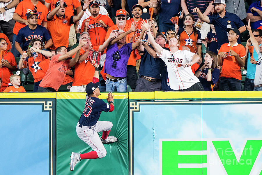 George Springer and Mookie Betts Photograph by Billie Weiss/boston Red Sox