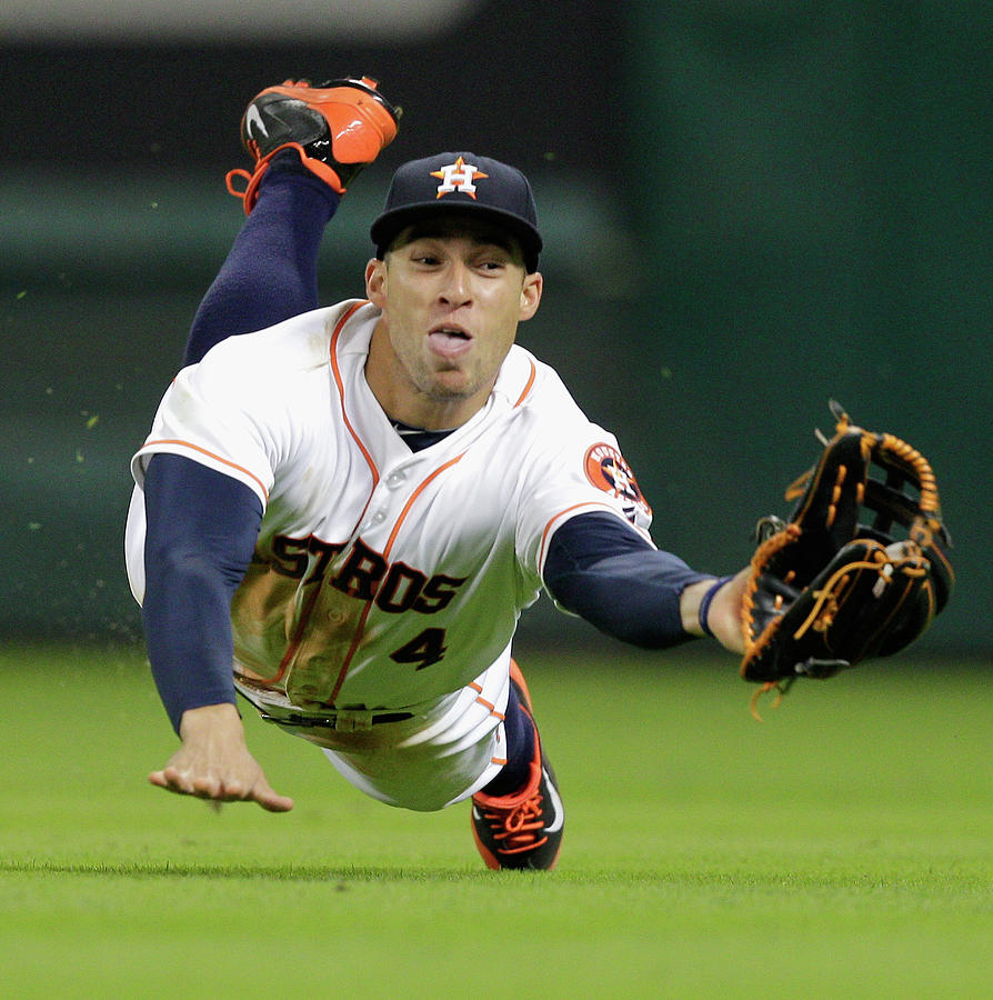 George Springer Photograph by Bob Levey