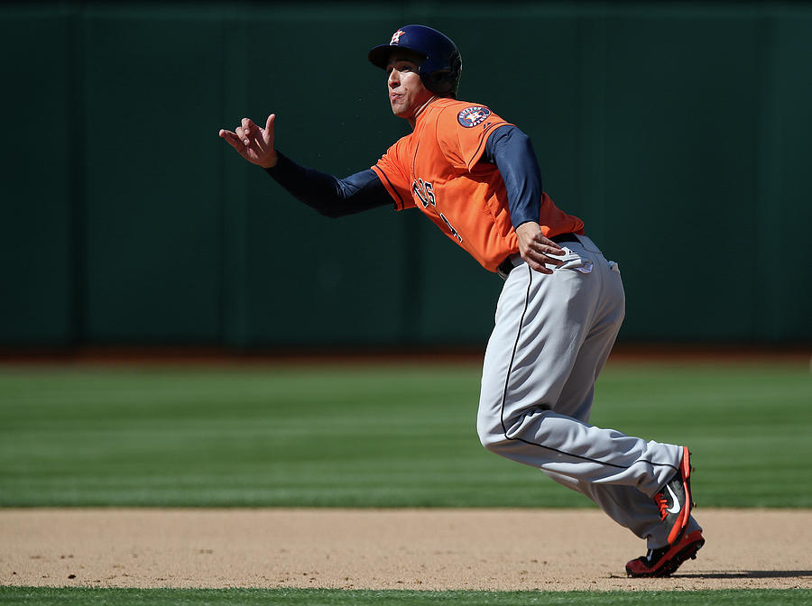 George Springer Photograph by Brad Mangin