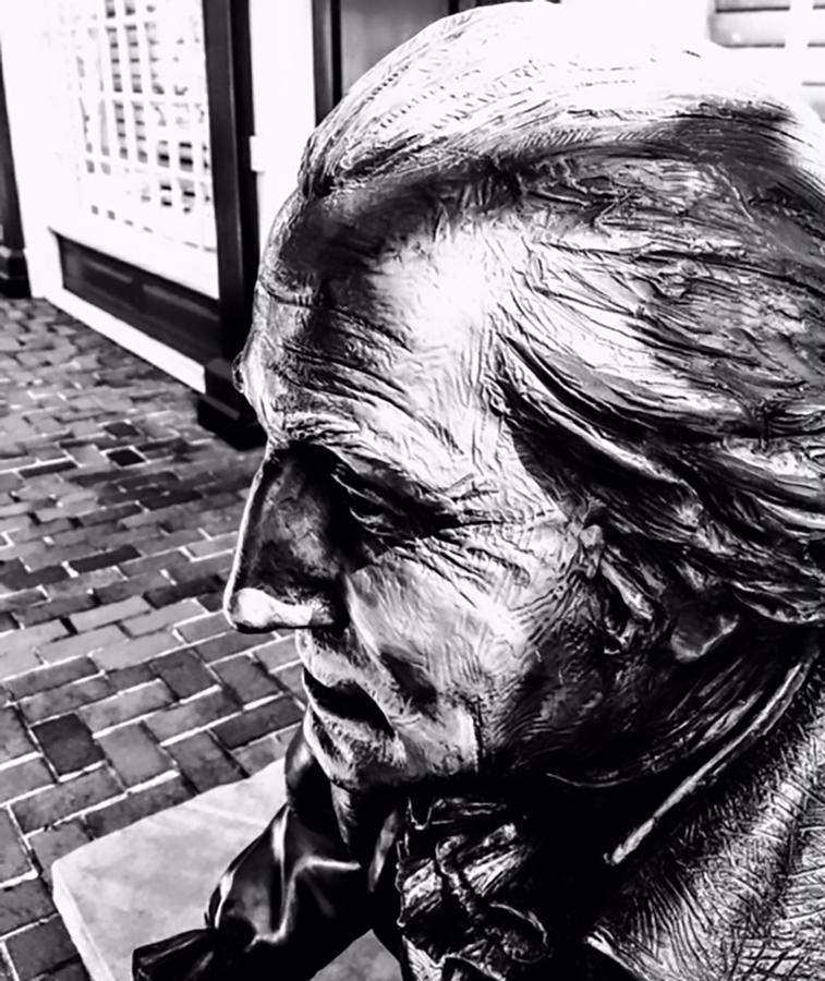 George Washington Photograph - George Washington Sculpture by Jeremy Edsall