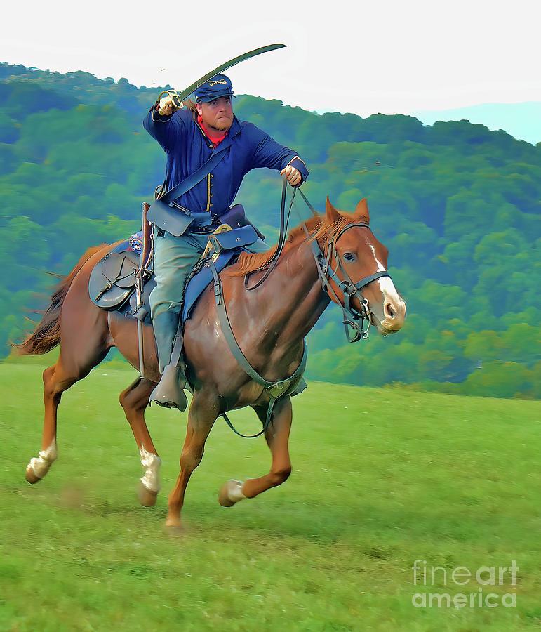 Gettysburg Re-enactment Photograph