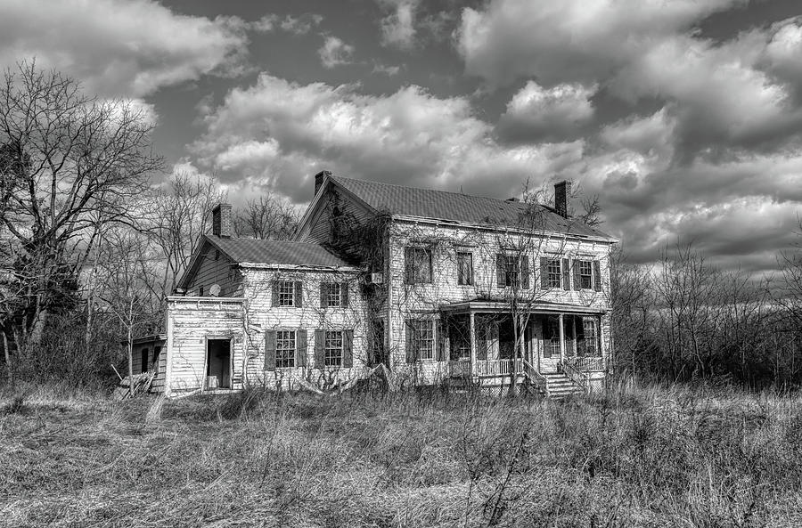 Ghost House Photograph