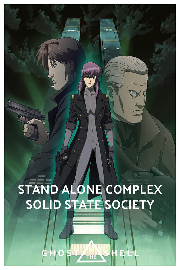 Ghost In The Shell Stand Alone Complex Solid State Society 2007 Digital Art By Geek N Rock