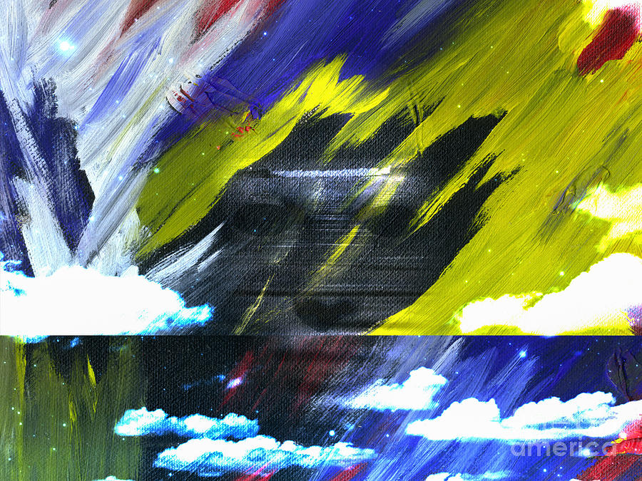 Ghost On Canvas Digital Art