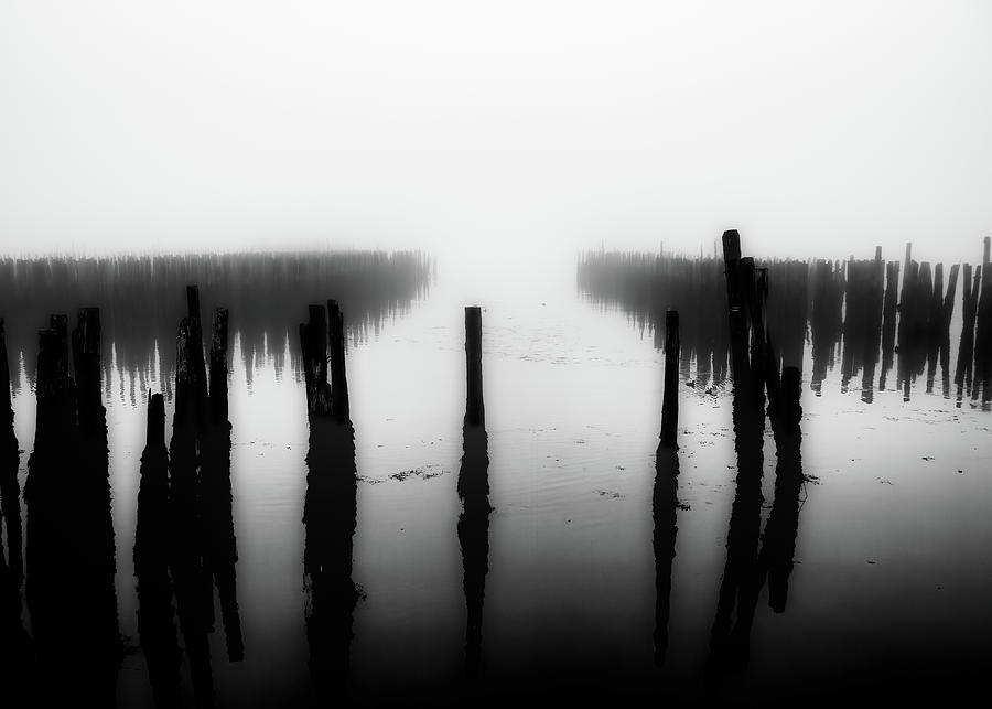 Ghost Pilings by Bob Orsillo