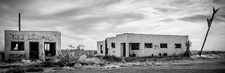 Car Photograph - Ghost town by Peyton Vaughn