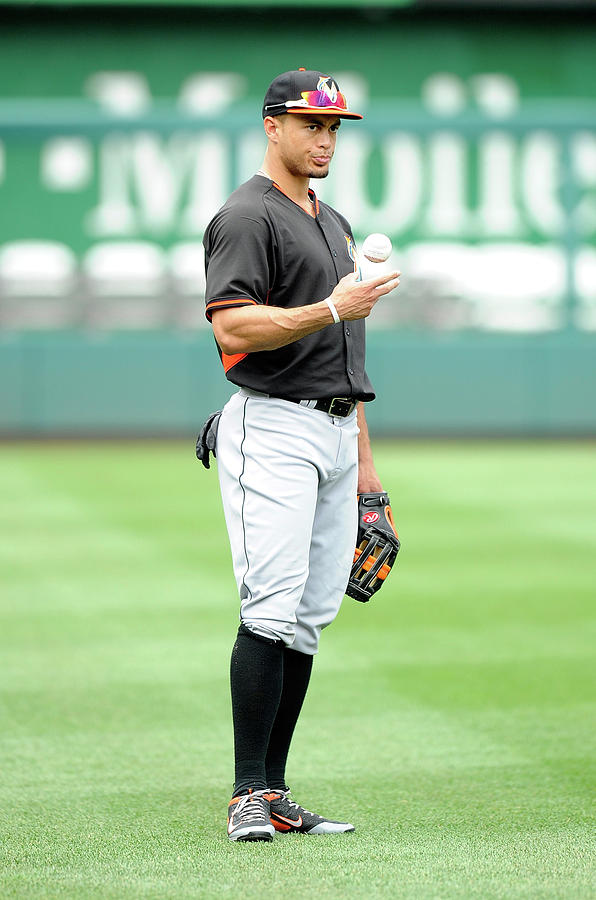 Giancarlo Stanton Photograph by Greg Fiume