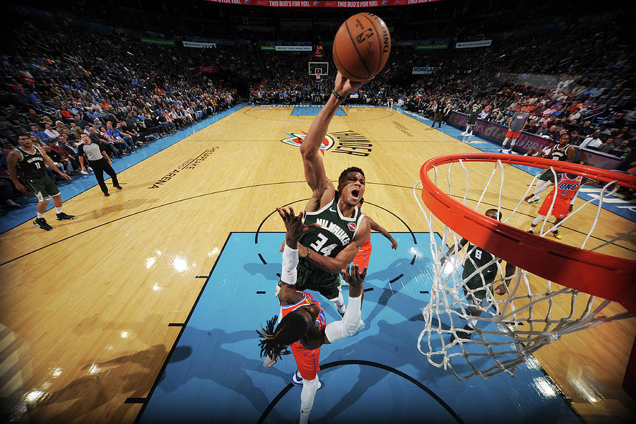 Giannis Antetokounmpo Photograph by Bill Baptist