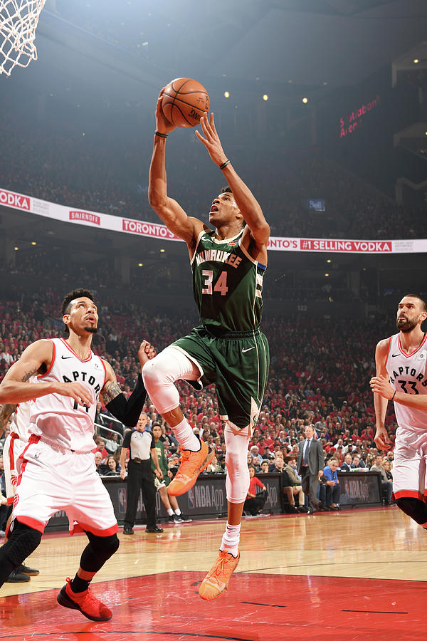 Giannis Antetokounmpo Photograph by Ron Turenne