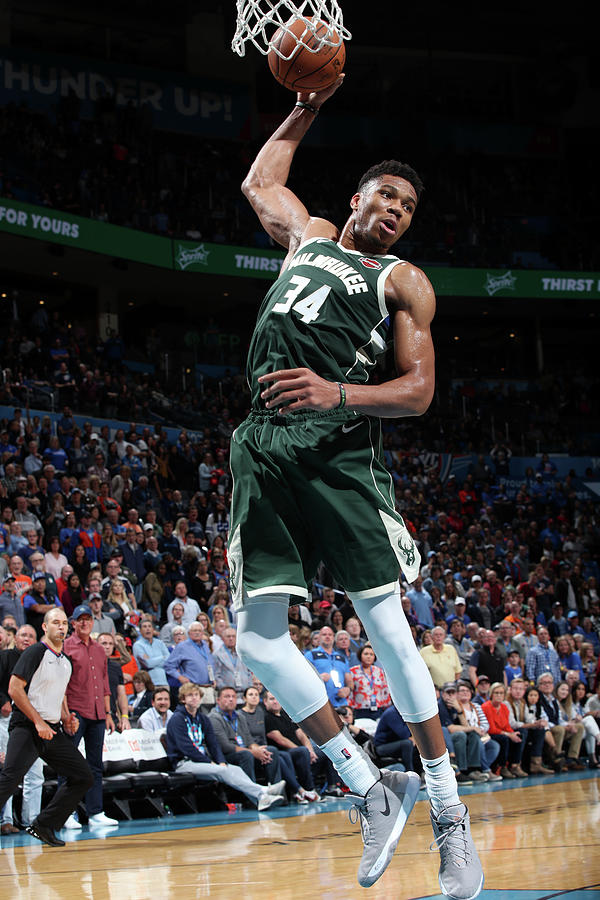 Giannis Antetokounmpo Photograph by Zach Beeker