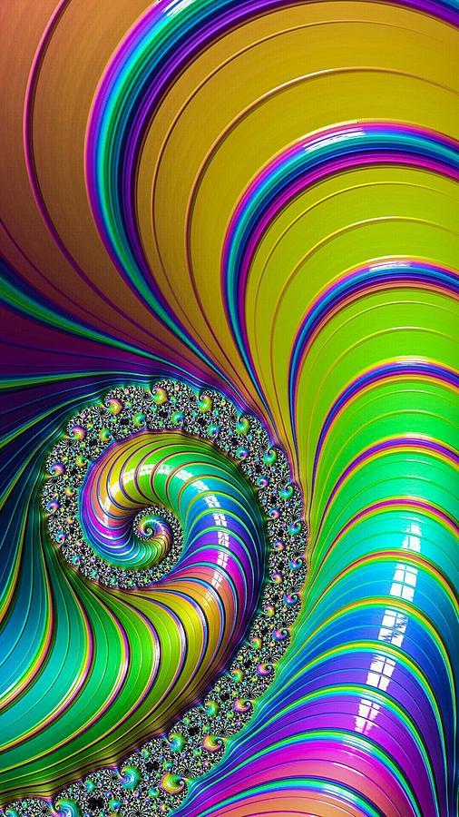 Giant Snail Digital Art